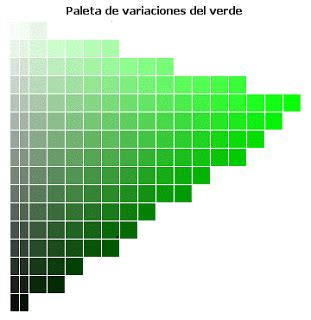 Dibujo y Diseño: El color VERDE