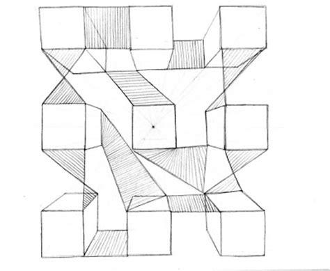 Dibujo1: Perspectiva con 1 punto de fuga