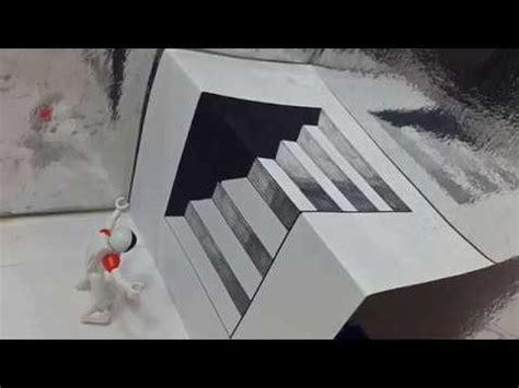 Dibujos a lapiz en 3d paso a paso faciles   YouTube