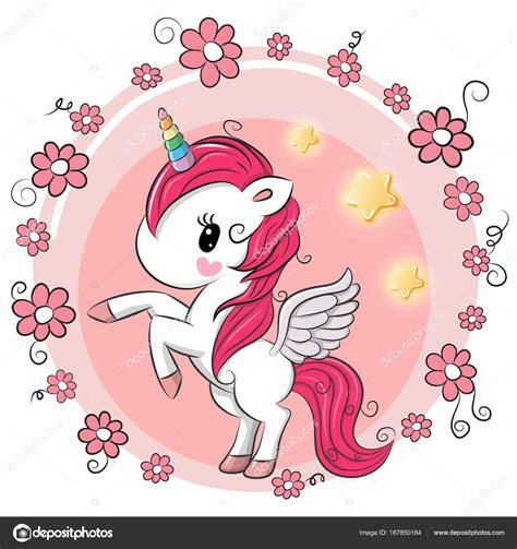 Dibujos: animados de flores lindas | Lindo unicornio de ...
