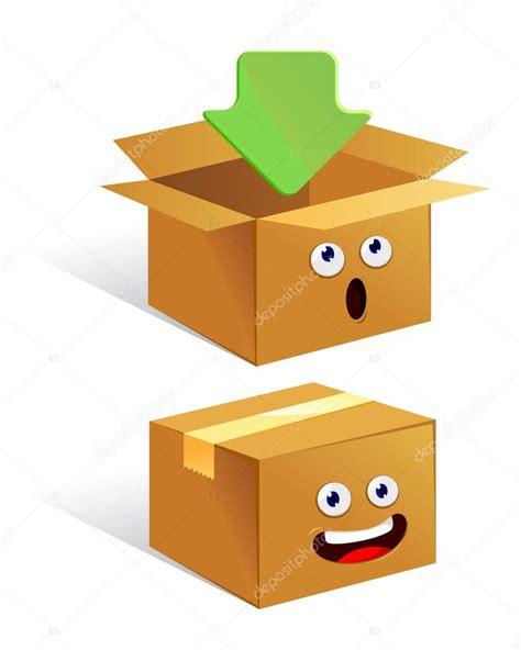 Dibujos: cajas de carton | personaje de dibujos animados ...