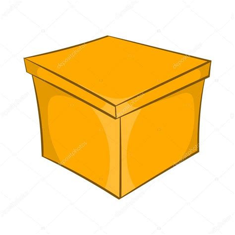Dibujos: cosas cuadradas animadas | Icono de caja cuadrada ...
