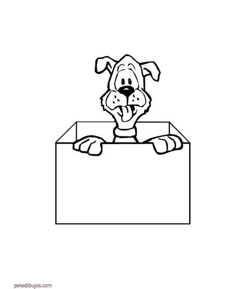 Dibujos de cajas para colorear