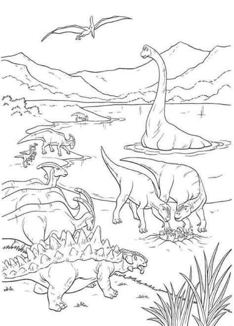 Dibujos de dinosaurios a color para imprimir   Imagui