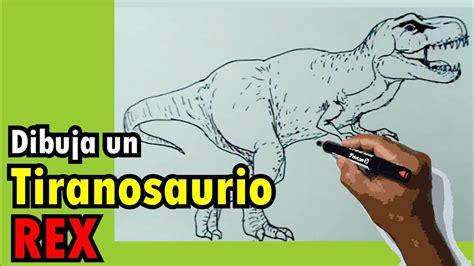 Dibujos de dinosaurios fácil 6/8   Como hacer un ...