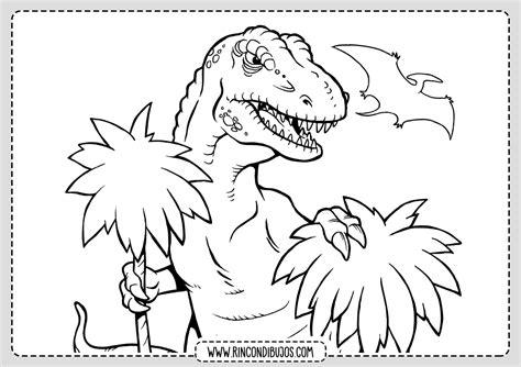Dibujos de Dinosaurios para colorear | Imprimir y Colorear