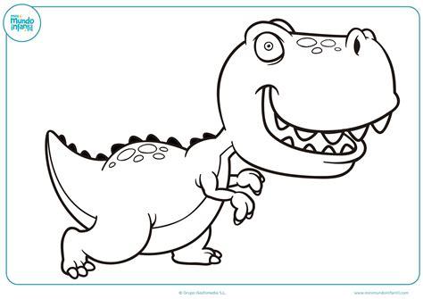 Dibujos de Dinosaurios para Colorear Imprimir y Pintar ...