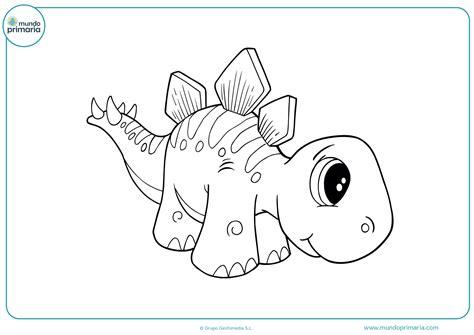 Dibujos de Dinosaurios para Colorear Imprimir y Pintar