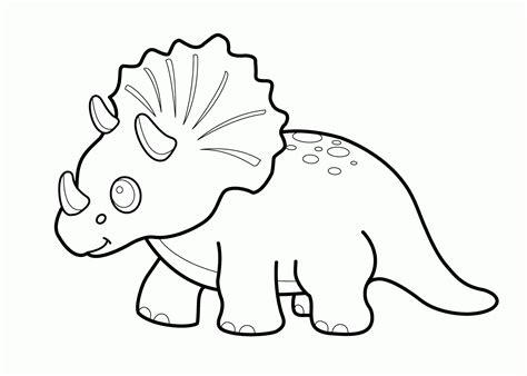 Dibujos de Dinosaurios para colorear infantiles ⊛ De ...