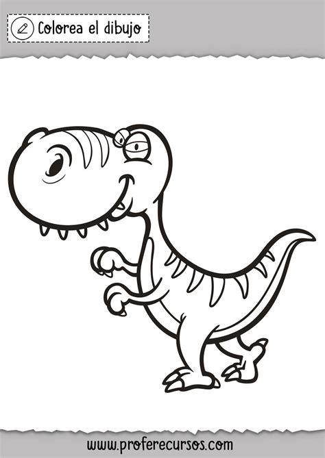 Dibujos de Dinosaurios para Colorear   Profe Recursos