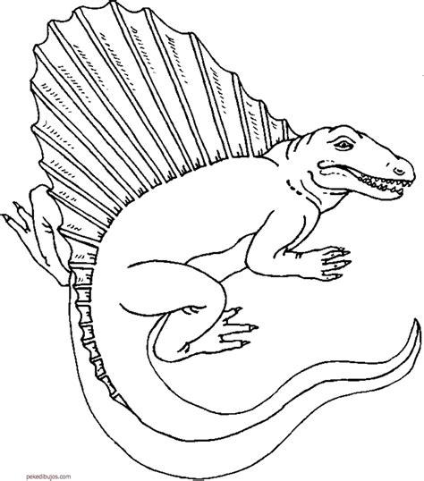 Dibujos de dinosaurios para colorear y pintar