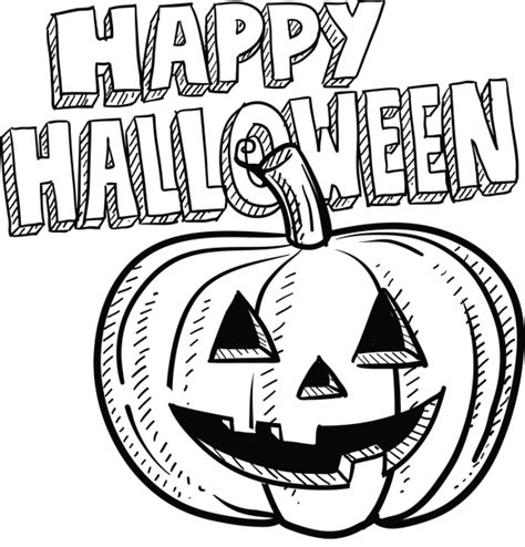 DIbujos de Happy Halloween para imprimir y pintar ...