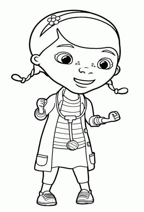 Dibujos de la Doctora Juguetes para colorear, pintar e ...