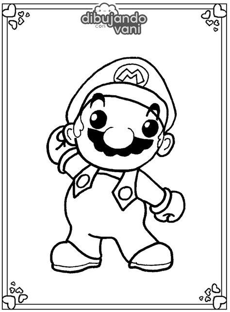 Dibujos de Mario Bros para imprimir y colorear   Dibujando ...