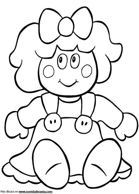 Dibujos de muñecas de trapo para pintar | Colorear imágenes