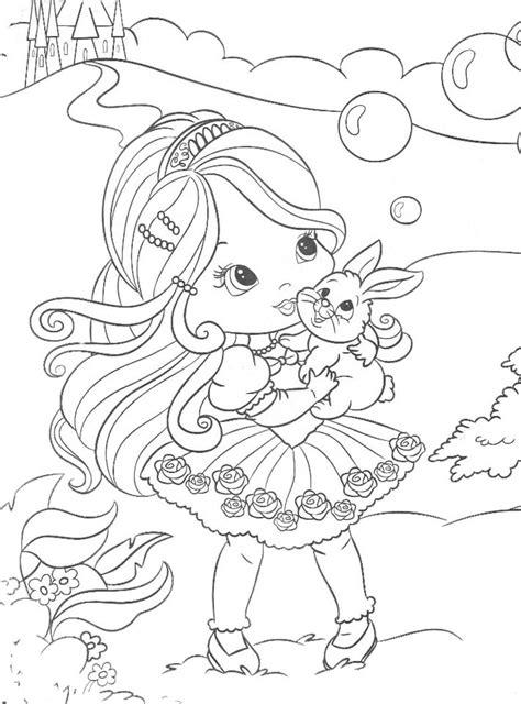 Dibujos de muñecas lindas para colorear   Imagui