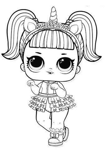 Dibujos de Muñecas LOL Surprise para Colorear e Imprimir ...