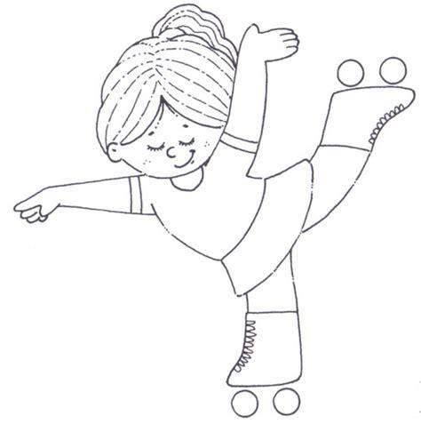 Dibujos de niños deportistas para colorear | Colorear imágenes