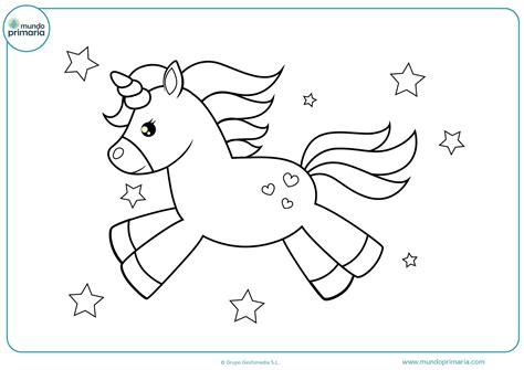 Dibujos De Ninos: Dibujos De Unicornios Bebes Para Colorear