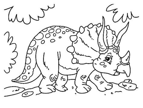 Dibujos De Ninos: Dibujos Para Pintar Online Dinosaurios