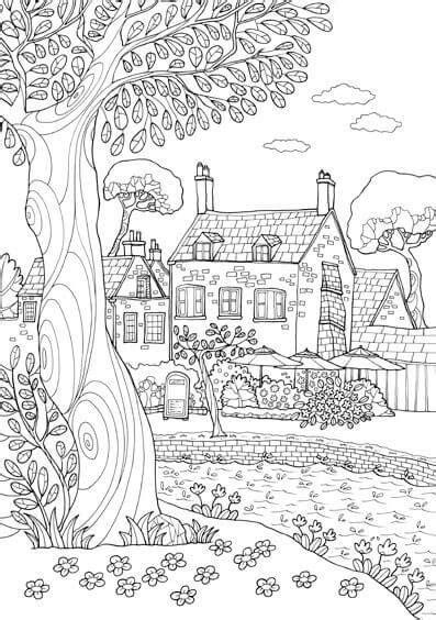 dibujos de paisajes para colorear e imprimir   Dibujos ...