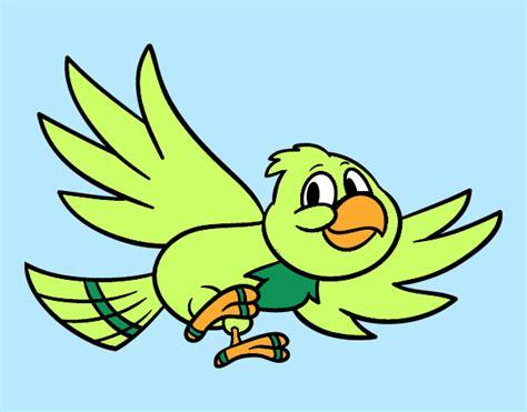 Dibujos de pajaros volando a color   Imagui