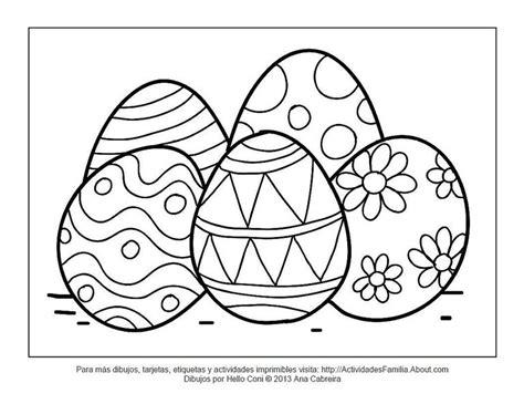 Dibujos de pascua de resurrección para imprimir y colorear