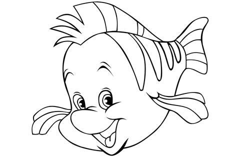 Dibujos de peces para colorear e imprimir gratis