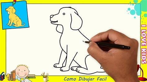 Dibujos De Perros Faciles Para Dibujar Paso A Paso