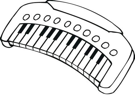 Dibujos de pianos para niños para pintar HD | DibujosWiki.com