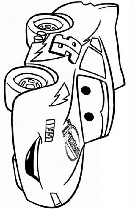 Dibujos de Rayo McQueen Feliz para Colorear, Pintar e ...