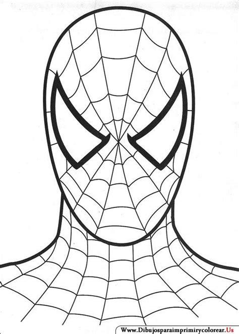Dibujos de Spiderman para Imprimir y Colorear   Spiderman ...