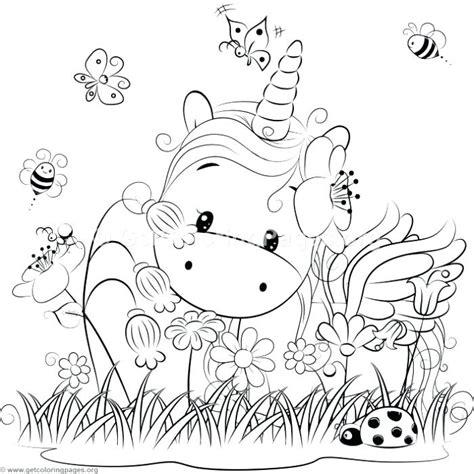 Dibujos de unicornios Kawaii para colorear, descargar e ...