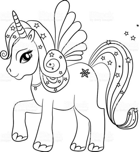 Dibujos de unicornios para colorear | Colorear imágenes