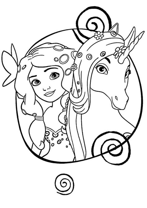Dibujos de Unicornios para colorear   Colorear24.com