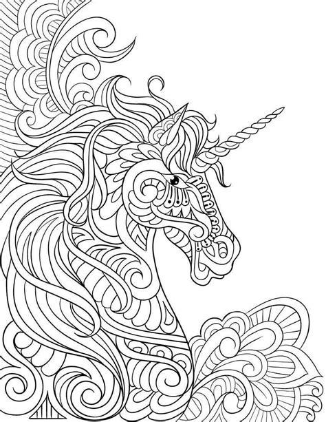 Dibujos de UNICORNIOS para Colorear | Mandalas para pintar ...