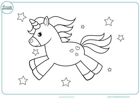 Dibujos de unicornios para Colorear   Mundo Primaria