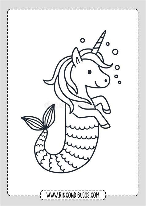 Dibujos de Unicornios Para pintar   Rincon Dibujos