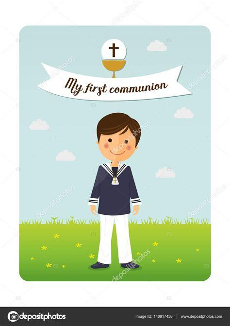 Dibujos: diseño invitaciones comunion | Invitación de niño ...