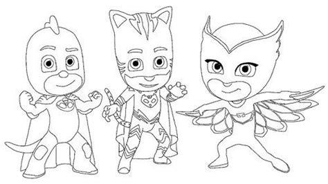 Dibujos e Imágenes de PJ Masks para Imprimir y Colorear ...