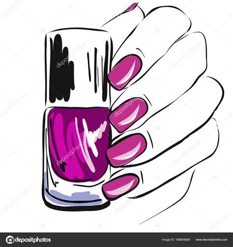 Dibujos: esmaltes de uñas   Esmalte Uñas Mano Uñas Bien ...