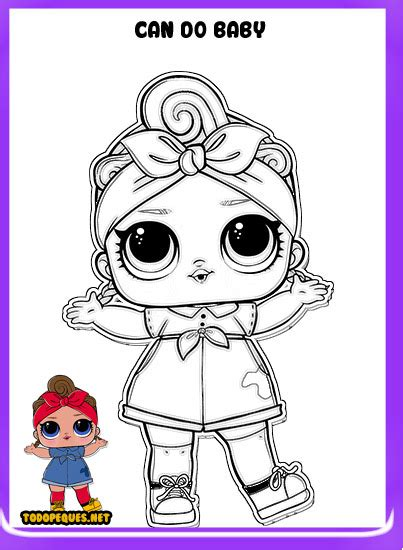 Dibujos LOL Suprise para colorear | Todo Peques