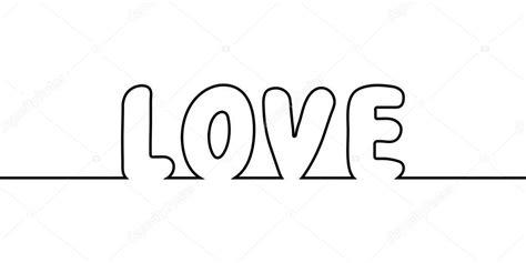Dibujos: palabra amor para colorear   palabra amor texto ...