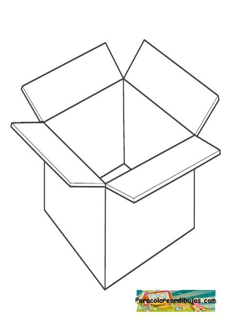 Dibujos para colorear de cajas de carton   Imagui