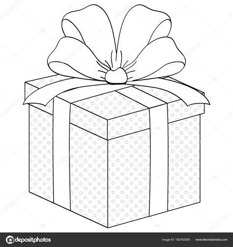dibujos para colorear de cajas de regalo