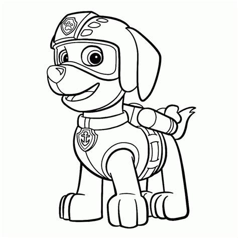Dibujos para Colorear de La Patrulla Canina | Colorear ...
