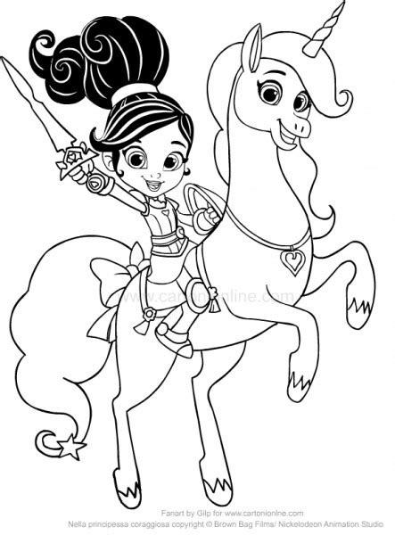 Dibujos Para Colorear De La Princesa Valiente