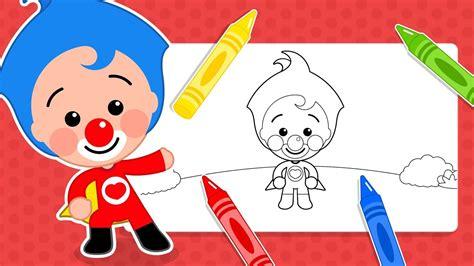 Dibujos para Colorear de Plim Plim #3 | Aprende los ...