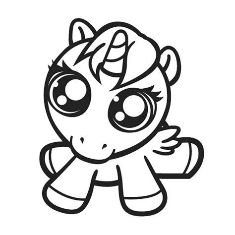 Dibujos Para Colorear De Unicornios Kawaii Para Imprimir ...
