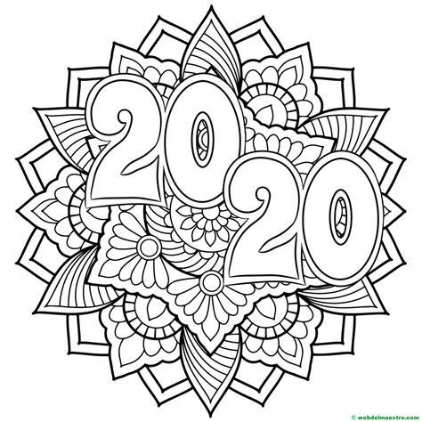 Dibujos para colorear | Dibujos de 2020   Web del maestro